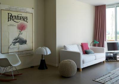 Hamo+ est une construction de 2 groupements de 4 bâtiments contigus constitués chacun de deux appartements à Vers-chez-les-Blanc.