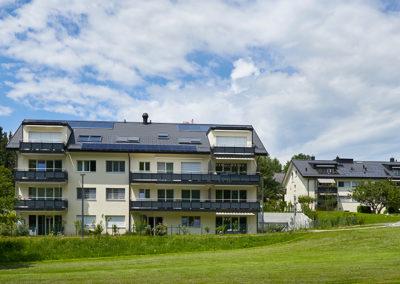 L'atelier Chiché Architectes à construit Grand Chemin 51-57 deux bâtiments de 10 appartements. Une architecture classique, à Epalinges.